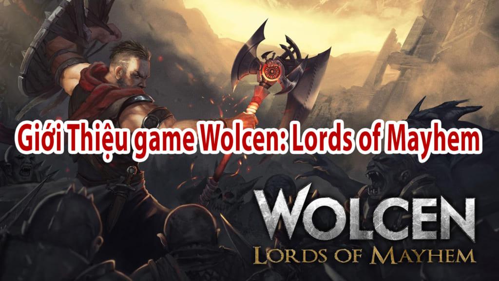 Giới Thiệu game Wolcen: Lords of Mayhem  . Đây là game hành động nhập vai cực kỳ kịch tính  Bạn sẽ vào vai là một trong ba người sống được sau cùng cuộc tàn sát của Castagath. Grand Inoritor Heimlock đã cứu bạn khỏi cuộc tàn sát thảm khốc trong wolcen: lords of mayhem việt ngữ   Bạn được Tuyển vào Đội quân chiến đấu khi tuổi còn rất trẻ .  Được đào tạo trong học viện quân sự và trở thành những người lính hoàn hảo chống lại siêu nhiên ở bản wolcen: lords of mayhem full crack này