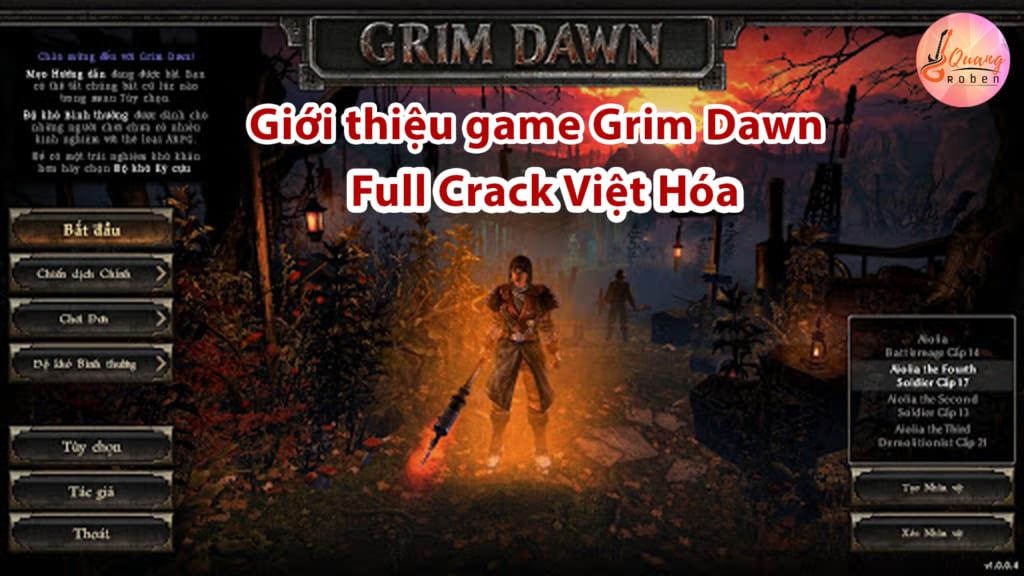 """Giới thiệu game Grim Dawn Full Crack Việt Hóa . Grim Dawn là game thuộc thể loại game nhập vai hành động. Trong game bạn bị mắc kẹt trong kỷ nguyên Victoria rất khó thoát ra. Và mọi thứ thật không dễ dàng, bạn phải chiến đấu với người ngoài hành tinh. Chúng sẽ là những con quái vật quen thuộc quấy rối bạn trong cuộc hành trình của mình.Hành động chính của game Grim Dawn Full Crack được phát triển xung quanh thành phố """"Ngã tư quỷ"""", nơi anh hùng của chúng ta xuất hiện như vị cứu tinh người tị nạn. Nhưng làm thế nào anh ta đến đó và điều đó dẫn đến điều đó ? Game Grim Dawn sẽ có một câu trả lời rõ ràng cho bạn ."""