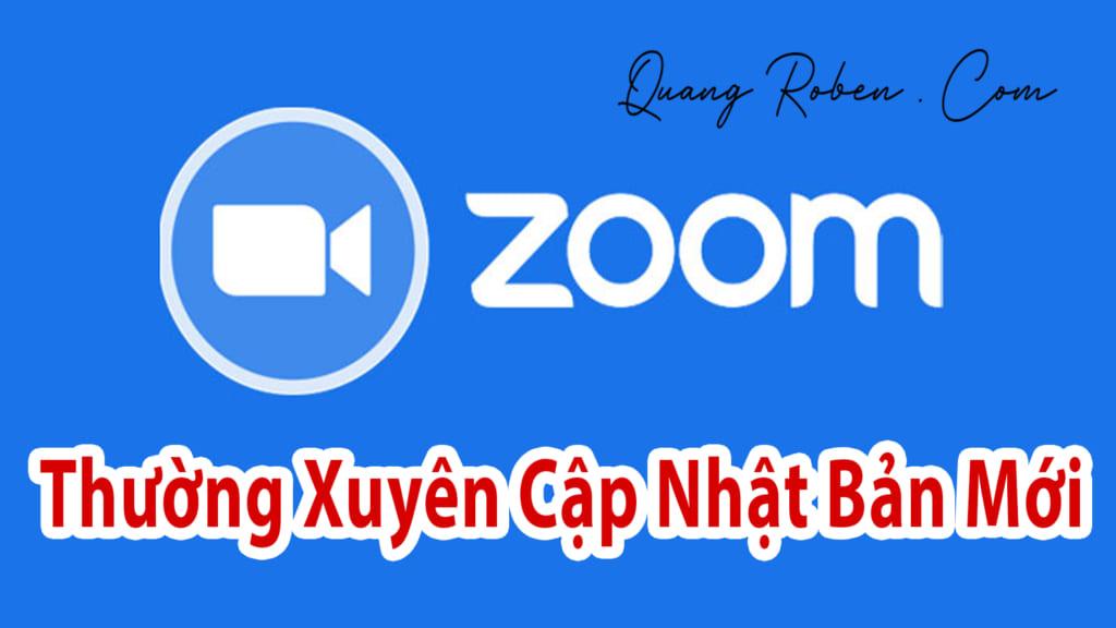 Thường Xuyên cập nhật các bản zoom mới nhất để nhà sản xuất vá lỗ hổng bảo mật cho bạn .