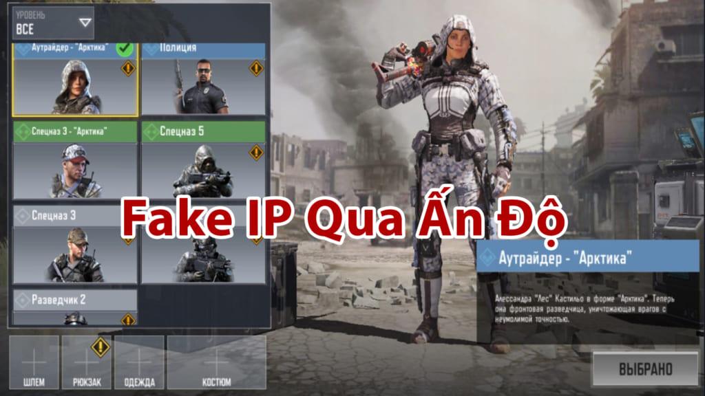 Mặc dù được tải xuống miễn phí tại nhiều nước, nhưng Call Of Duty Mobile vẫn ưu tiên các địa chỉ mạng tại Ấn Độ. Do đó các bạn nên Fake ip ( địa chỉ mạng của mình qua Ấn Độ ) để chơi game được tốt nhất, đỡ lỗi mạng nhé . Các Bạn Có thể xem bài viết chi tiết về cách Fake Ip Qua Ấn Độ