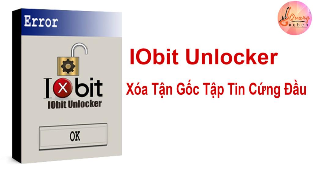 Nếu bạn đang bực tức vì không xóa được tập tin hay phần mềm cứng đầu ở máy bạn . Thì IObit Unlocker chính là giải pháp tối ưu dành cho bạn . IObit Unlocker được các coder viết nên, chức năng chủ lực của nó là bẻ khóa các tập tin, có thể nói các tập tin và phần mềm của bạn cứng đầu . IObit Unlocker chỉ cần 1 nhấp chuột là sẽ giải quyết mọi vấn đề bạn đang phiền não . phần mềm này giúp bạn tiết kiệm khá nhiều thời gian bạn thao tác công việc . Từ đó làm cho công việc bạn hanh thông hơn . Bạn có thể bẻ khóa các tập tin để di chuyển, đổi tên hoặc thậm chí là xóa luôn file đó . Đội Ngũ Quang Roben chắc chắn rằng sẽ không làm bạn thất vọng khi sử dụng phần mềm này . Với cách sử dụng đơn giản, giao diện thân thiện với người dùng IObit Unlocker là lựa chọn tối ưu cho bạn . Phần mềm bẻ khóa, xóa tận gốc các tập tin cứng đầu nhất .