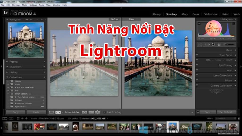 Có Thể Đồng bộ với Adobe Portfolio: Với công cụ này bạn có thể trình chiếu ảnh của bạn trên web nhờ tính năng đồng bộ.  Share Tab: Bạn Nhanh chóng chọn và truy cập vào album ảnh mà bạn đã chia sẻ trước đây qua lightroom.adobe.com.