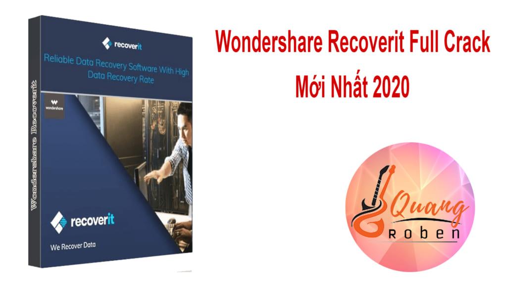 Giới Thiệu Wondershare Recoverit Full Crack Wondershare Recoverit ứng dụng khôi phục dữ liệu của máy tính vô tình bị xóa. Tốc độ khôi phục nhanh chóng có thể gọi là thần tốc . Khôi phục được các dữ liệu cứng đầu  . Tuyệt nhiên không làm hại tới máy tính của bạn, kể cả về dữ liệu và thông tin . Được bảo mật an toàn, không hề có virus . Trên thế giới được rất nhiều người sử dụng phần mềm Wondershare Recoverit . Với số lượng nên đến hàng triệu người dùng phần mềm Wondershare Recoverit . Chứng tỏ Wondershare Recoverit chiếm được cảm tình của nhiều anh em làm IT đó nhỉ . Hỗ trợ lấy cả các têp bị xóa ở thiết bị ngoài như usb, ổ cứng rời v...v . Khôi phục các tệp bị xóa như ban đầu vào một thư mục trống . Không hề có virus tấn công ổ cứng của bạn . Ở bài viết này sẽ có các tính năng mà bạn hoàn toàn có thể ứng dụng vào công việc thực tiễn của mình . Đội Ngũ Quang Roben sẽ phân tích chi tiết cho bạn ở phía dưới nhé .