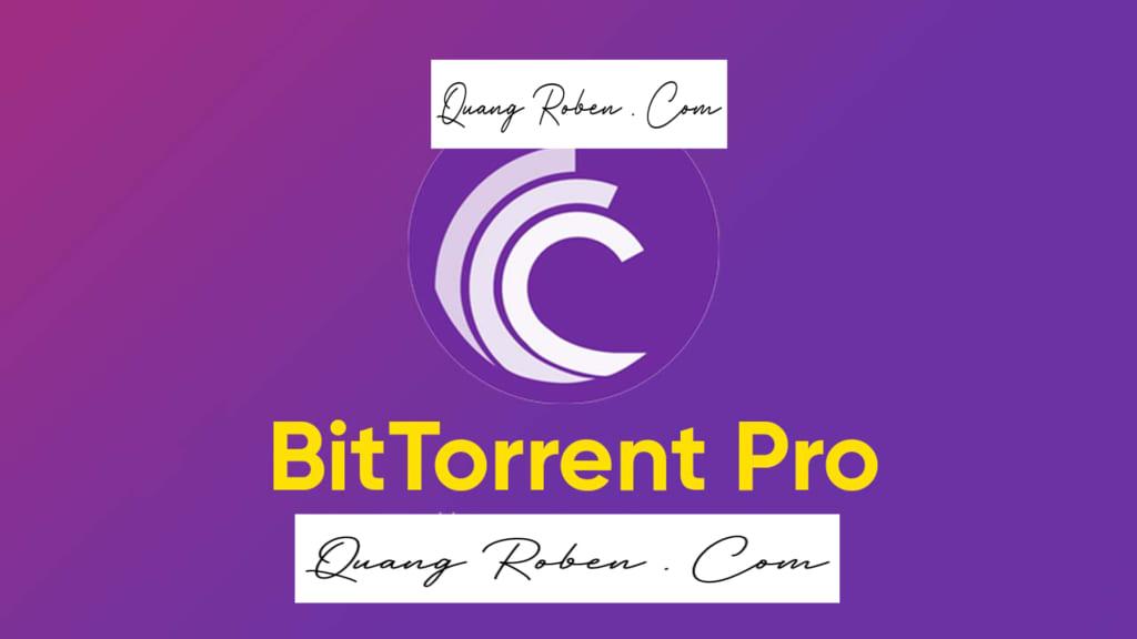 BitTorrent Pro được viết bởi Bram Cohen . BitTorrent Pro được nâng cấp ở bản này hỗ trợ bạn download rất nhiều . Bằng phương thức Torrent quen thuộc bạn hoàn toàn có thể tải nhạc, phim , hình ảnh hay bất cứ thứ gì trên internet một cách nhanh chóng . BitTorrent Pro Thông minh ở chỗ , có thể nhận biết được tất cả những gì cần thiết để tải về một tập tin đầy đủ . Cùng đó là giao diện đơn giản , giúp các bạn dễ thao tác , dễ sử dụng . Một file nào đó bạn chuyển từ internet về, mà bạn muốn chuyển qua các thiết bị di động thì BitTorrent Pro sẽ giúp bạn điều đó cực hiệu quả . BitTorrent Pro nhanh chóng chuyển hóa chúng về đúng định dạng phù hợp với thiết bị di động của bạn . Ví dụ như : iphone, iPad, iPod, Xbox, Playstation, Apple TV vân vân và mây mây ....... Mạng P2P được tích hợp sẵn giúp cho BitTorrent Pro tải các file nhanh chóng thần tốc . Mời bạn tham khảo các chức năng tối ưu đến không tưởng, của BitTorrent Pro trong bài viết này nhé